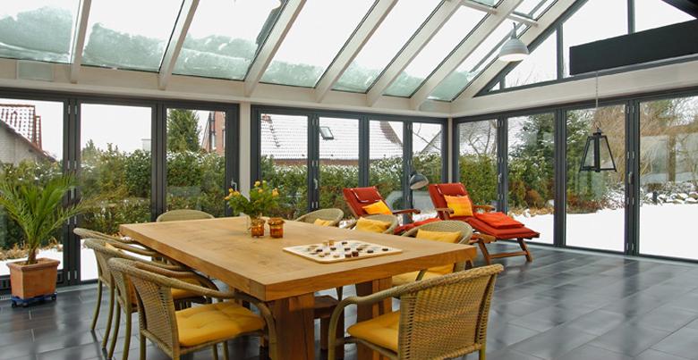 Isolation veranda hiver