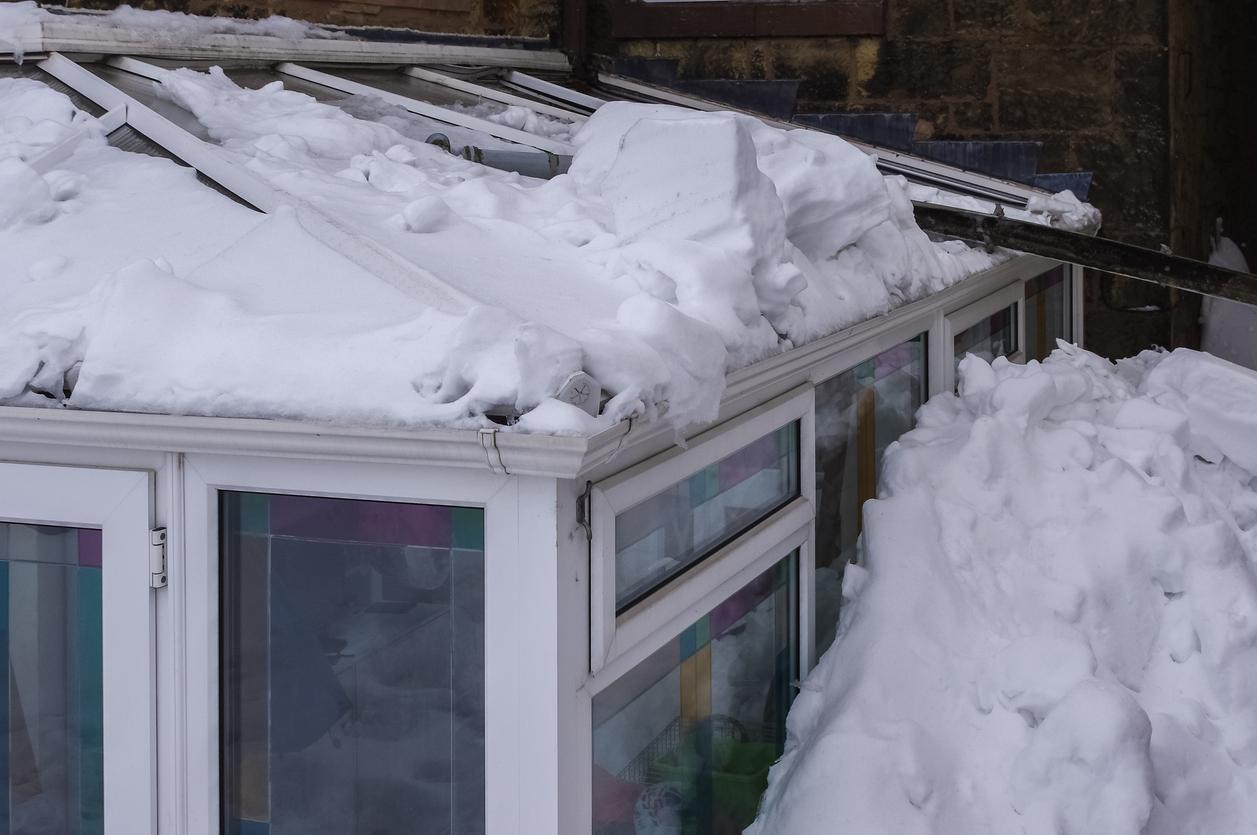 Isolation véranda neige