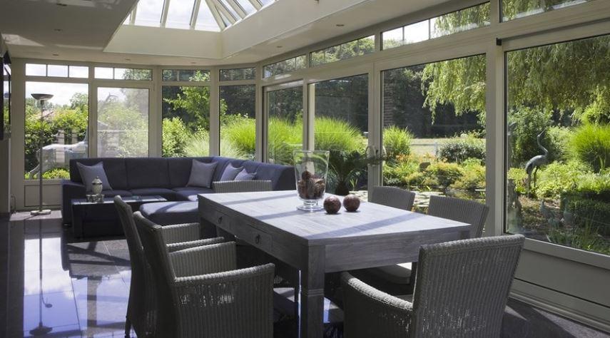 isolation veranda salle à manger/salon