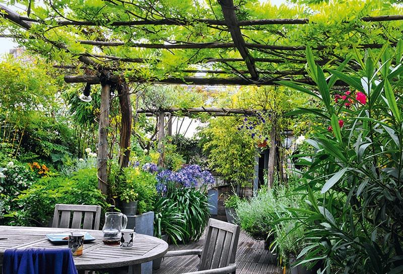 toiture de terrasse végétalisée