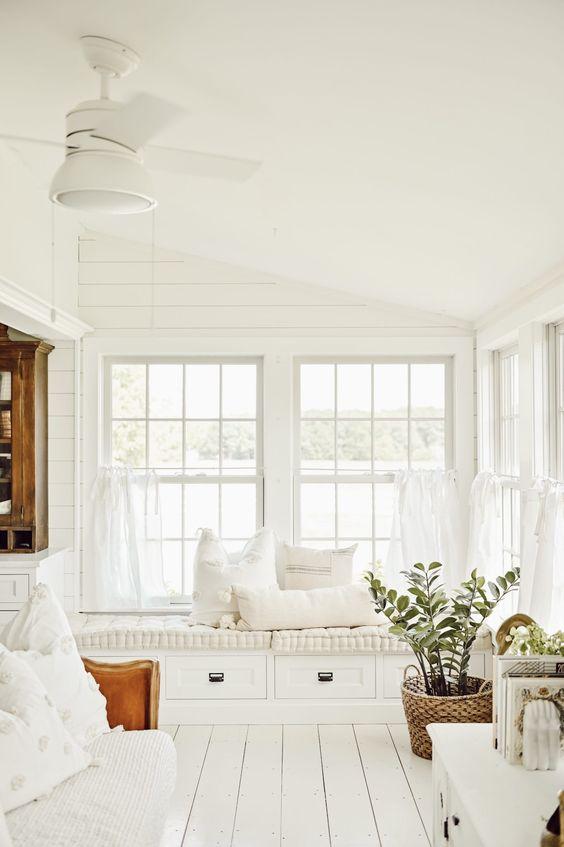 veranda à vivre cosy et confort